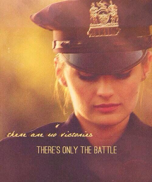 Police and Law Enforcement There are no victories. There is only the battle.