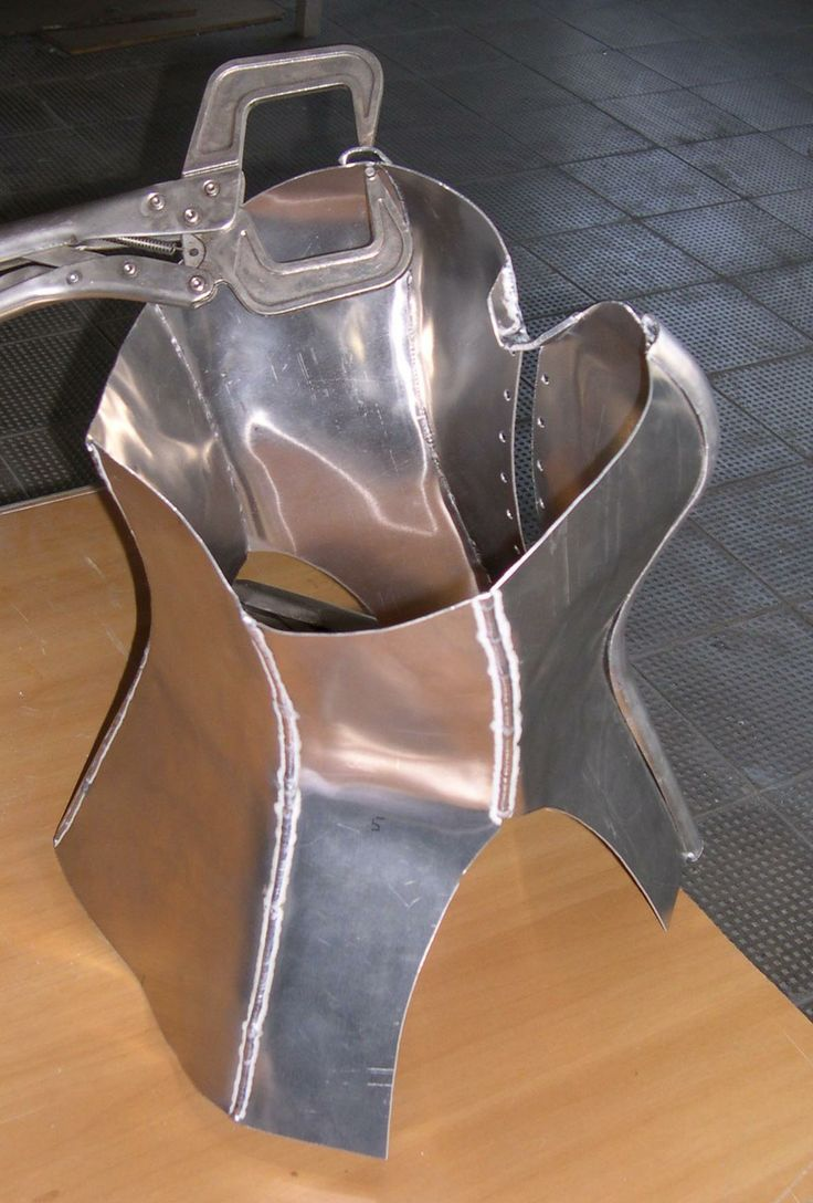 metallic corset