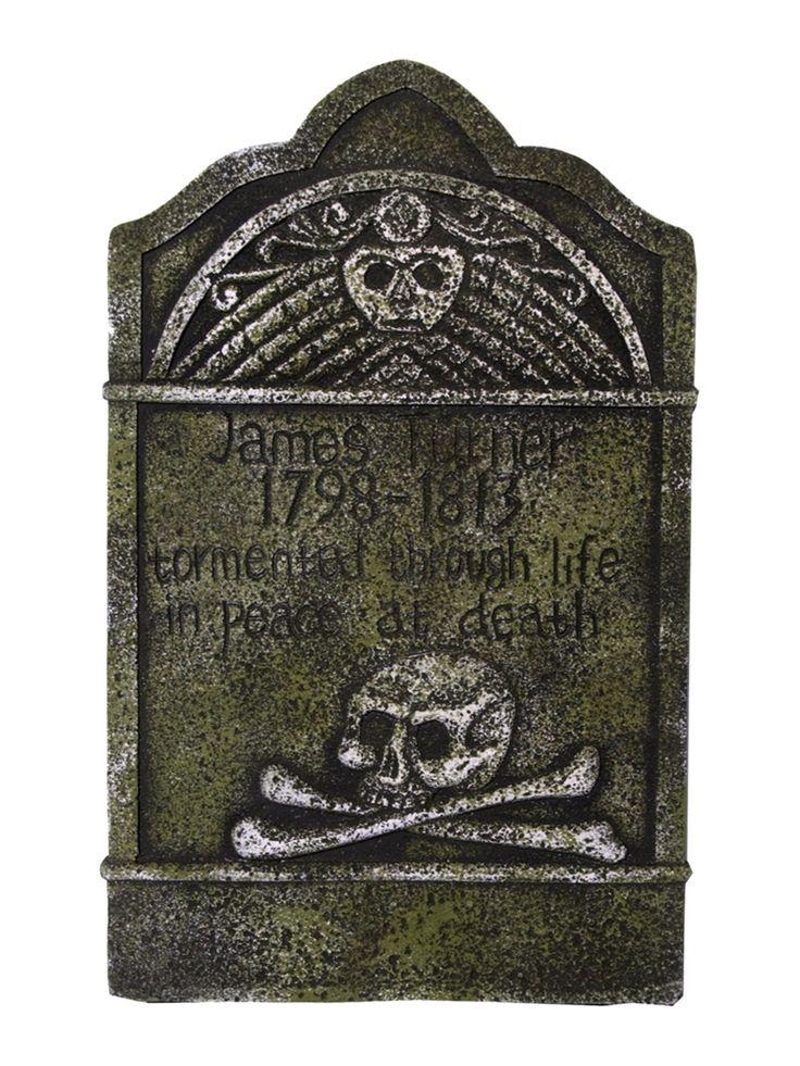 skull crossbones tombstone 22in 350594 discount checksdiscount rugs discount curtainscarthalloween 2015halloween decorationschristmas - Discount Halloween Decorations