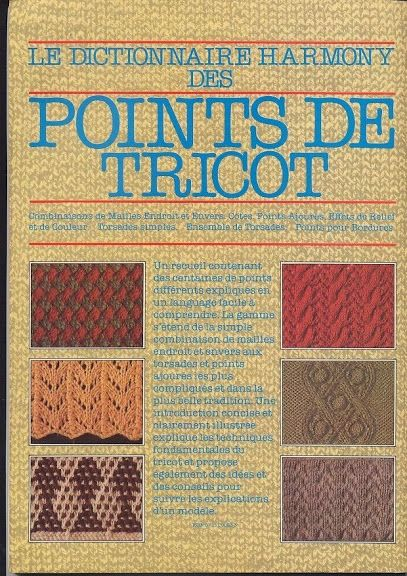 Dictionnaire Harmomy Point de tricot vol.1 - Nica Santos - Picasa Albums Web