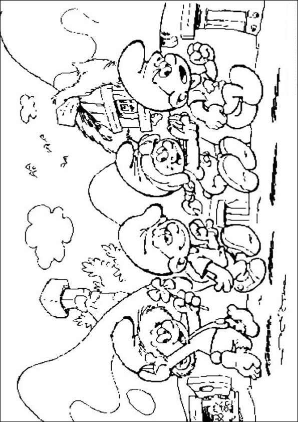 schlümpfe malvorlagen ausmalbilder schlmpfe 30