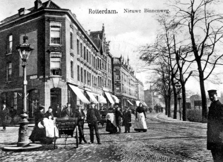 Nieuwe Binnenweg, voorjaar 1907.