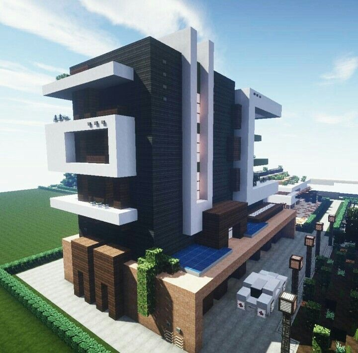 Minecr4ft_biome Build Modern Apartment Complex