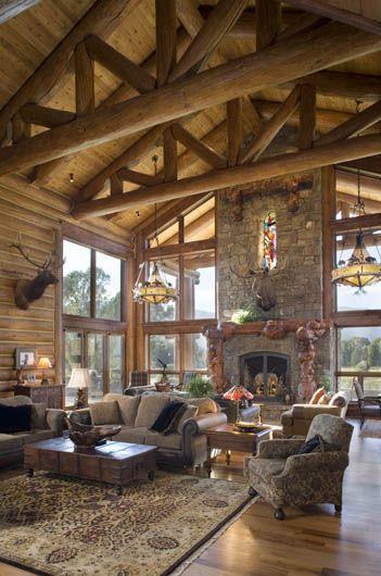 Beautiful lodge decor