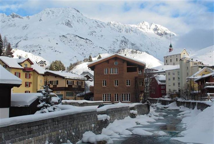 Andermatt village. Image by Sarah Reid