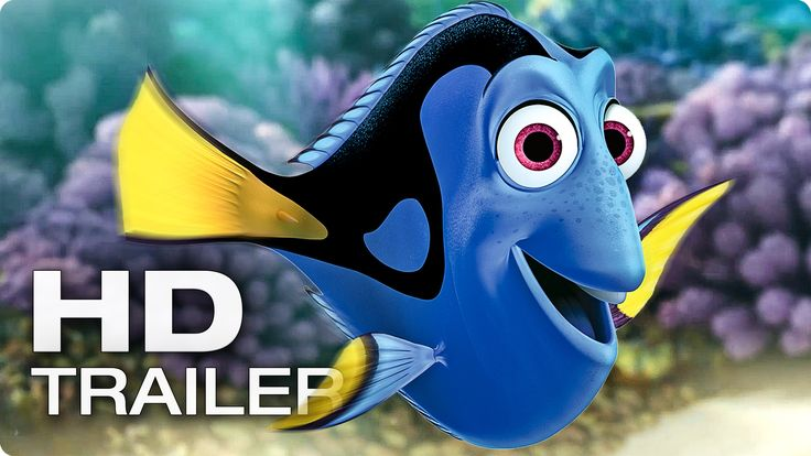 FINDING DORY Official Trailer (2016)