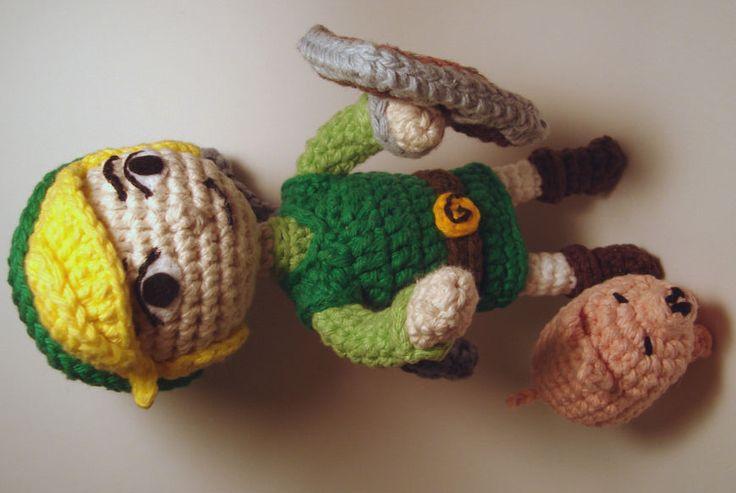 Legend of Zelda - Toon Link Amigurumi Crochet and ...