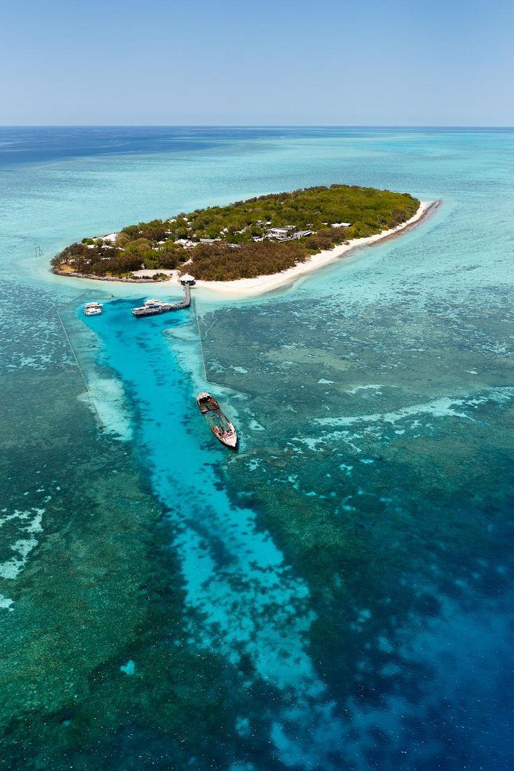 Heron Island in Australia