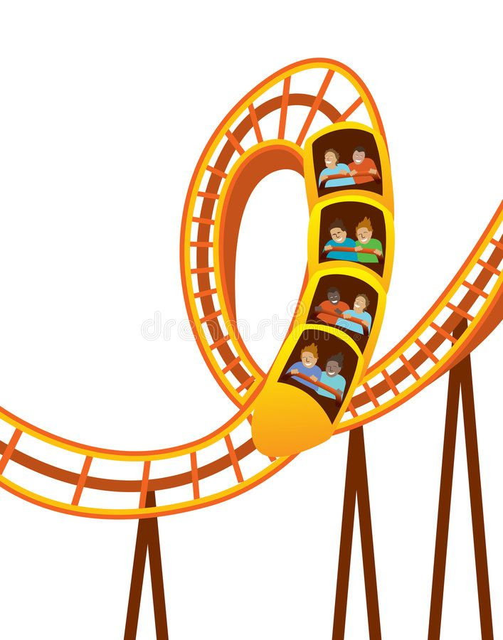 Roller Coaster Speedy Roller Coaster With Passengers Holding On Sponsored Coaster Roller Speedy Holding Passengers Roller Coaster Coasters Roller
