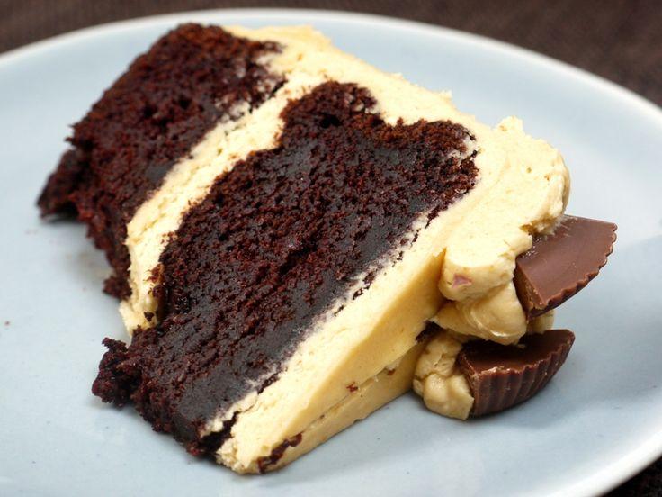 chocolate peanut butter birthday cake | cakes | Pinterest