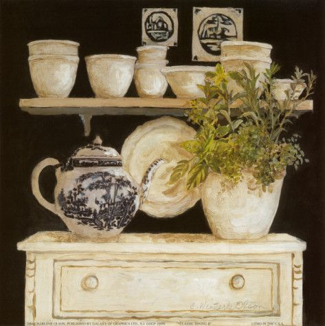 Classic Dining II (Charlene Winter Olson)