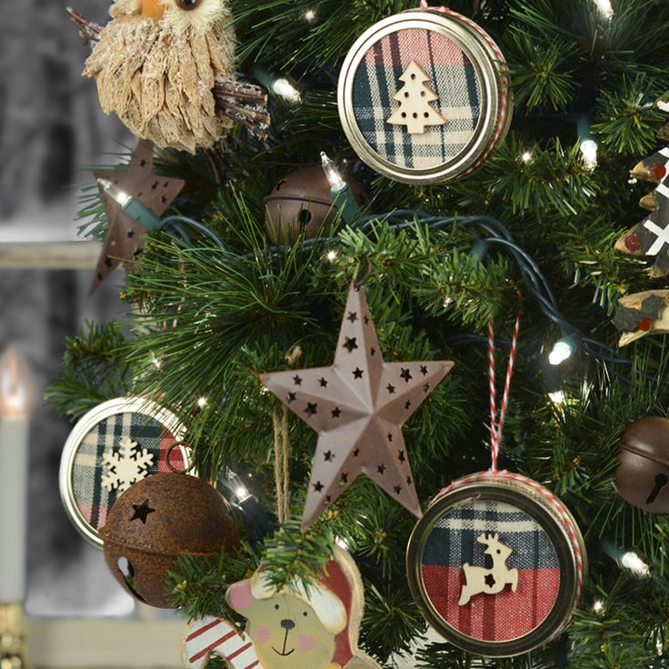 Lodge Style Rustic Holiday Ornaments 104 best Moore