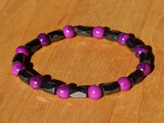 Armband Lösende Stärke  Magnetit Sugilith