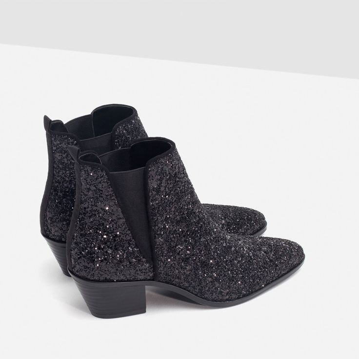 SPARKLE ANKLE BOOTS - View all - Shoes - WOMAN | ZARA United Kingdom