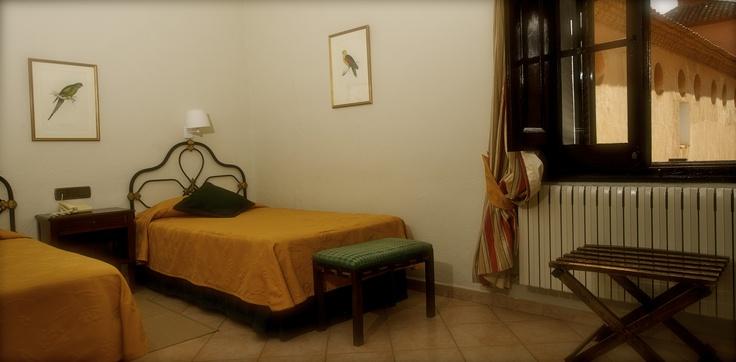 Habitación del Hotel Monasterio de Piedra