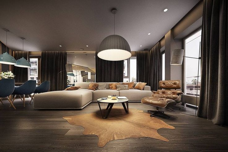 The Dark Colors In This Room Really Give This Room A Relaxed Feel. We Love