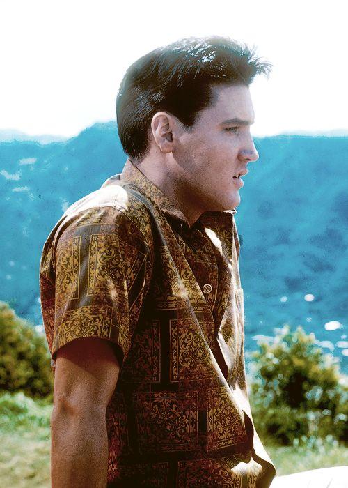 """Elvis Presley, Elvis in """"Blue Hawaii"""", 1961."""