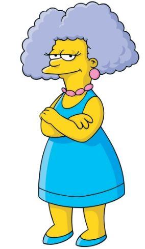 Selma Bouvier-Terwilliger-Hutz-McClure-Stu-Simpson-D'Amico (née Bouvier)