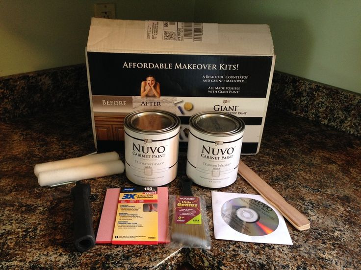 Nuvo Countertop Paint Video : Giani-Nuvo-Cabinet-Paint Painting Our House Pinterest
