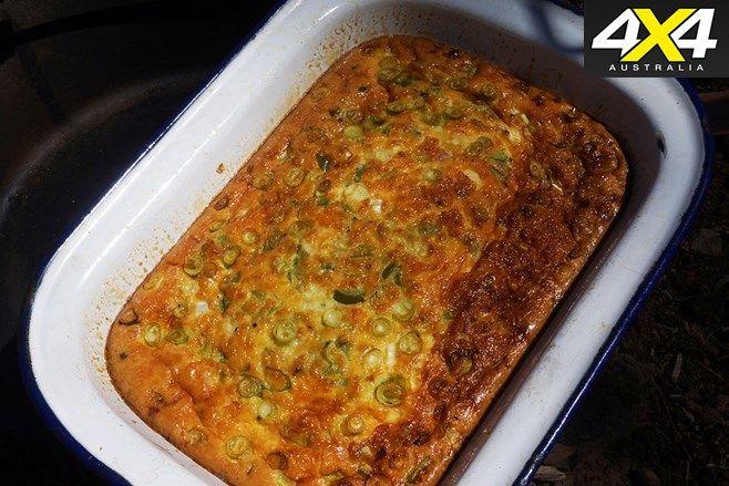 Recipe: Fully baked camp omelette