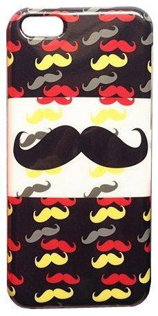 Coque pour iPhone 5C Big Moustache - Coques en Folie