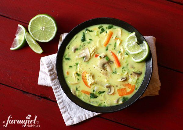 Coconut Curry Chicken SoupCoconut Curries Chicken, Chicken Soups, Chicken Coconut, Curries Soup, Curries Currychicken, Yummy Things, Currychicken Chicken, Coconut Recipe, Favorite Recipe