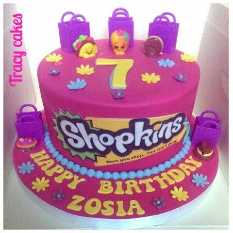 The Icing Artist Shopkins Cake