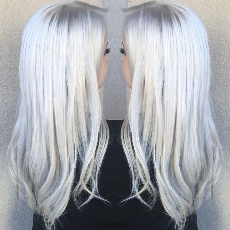 Best 25  Curly gray hair ideas on Pinterest