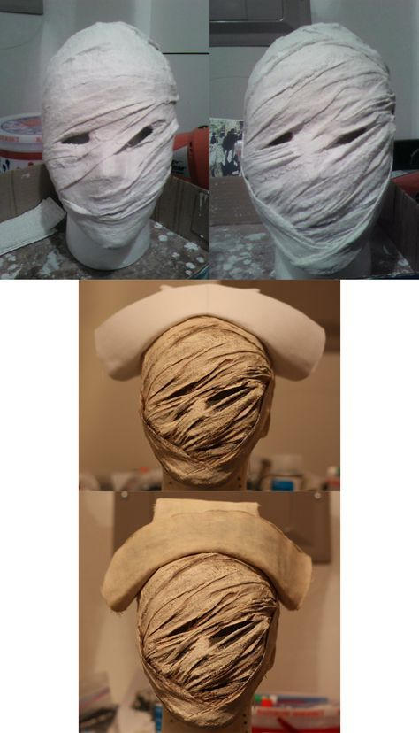 Basically a rather undocumented Work In Process of a Silent Hill Nurse Mask that I worked on. The pictures were mostly an afterthought as I was halfway through the process before I even thought abo...