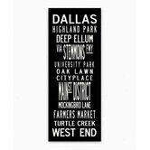 Found it at AllModern - Dallas Sign Art
