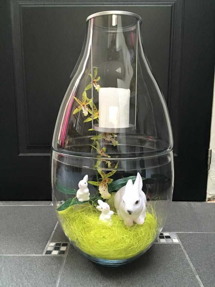 Clearly Creative Imperial Candle Holder with Nature's Love Bunny Candle Holders Get yours at www.partylite.biz/tawnischaad #PartyLite #Candles