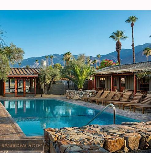 Distinctive New Hotelting The Coachella Valley
