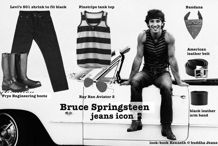 BRUCE SPRINGSTEEN  WHO: Bruce Frederick Joseph