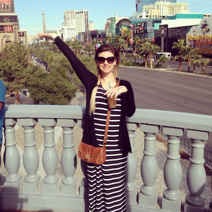 Las Vegas Strip; Taken from New York, New York. 10/10