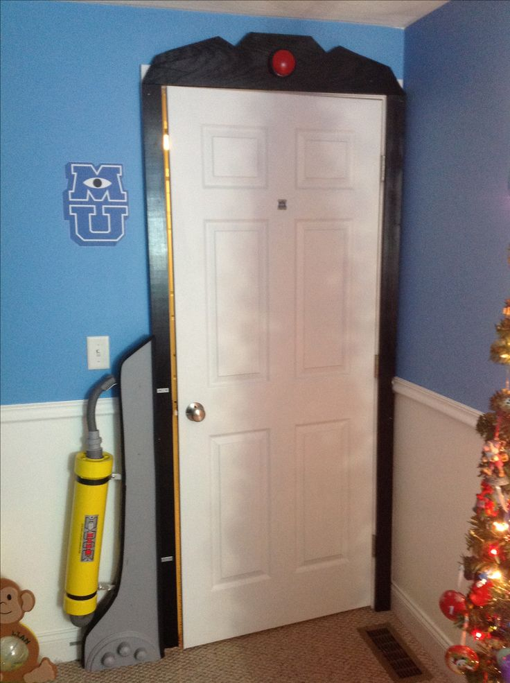 Monsters Inc. Monsters University bedroom! It is honest!
