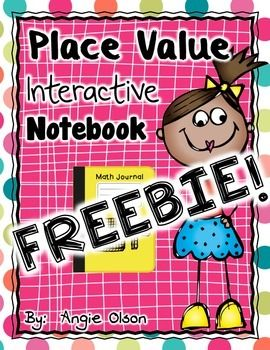 "Place Value Interactive Notebook FREEBIE ......Follow for Free ""too-neat-not-to-keep"" teaching tools & other fun stuff :)"