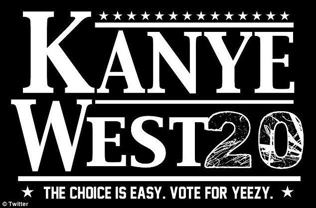 Memes take over Twitter as Kanye announces he's running for president #dailymail