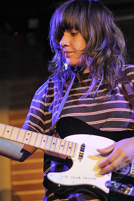 The incredibly ace Courtney Barnett. Shot I snapped back in July.