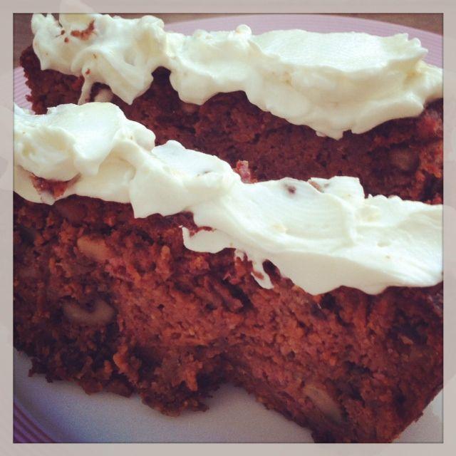 Gezonde carrotcake met een lemon cremecheese! | TUUL