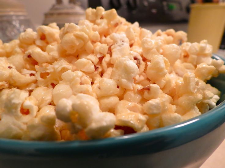 Microwave Caramel Corn: Because who wants to heat up the oven during ...