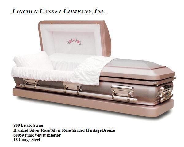 high end caskets | Lincoln Casket Company, Inc. - 800 Estate Series 18 Gauge Caskets