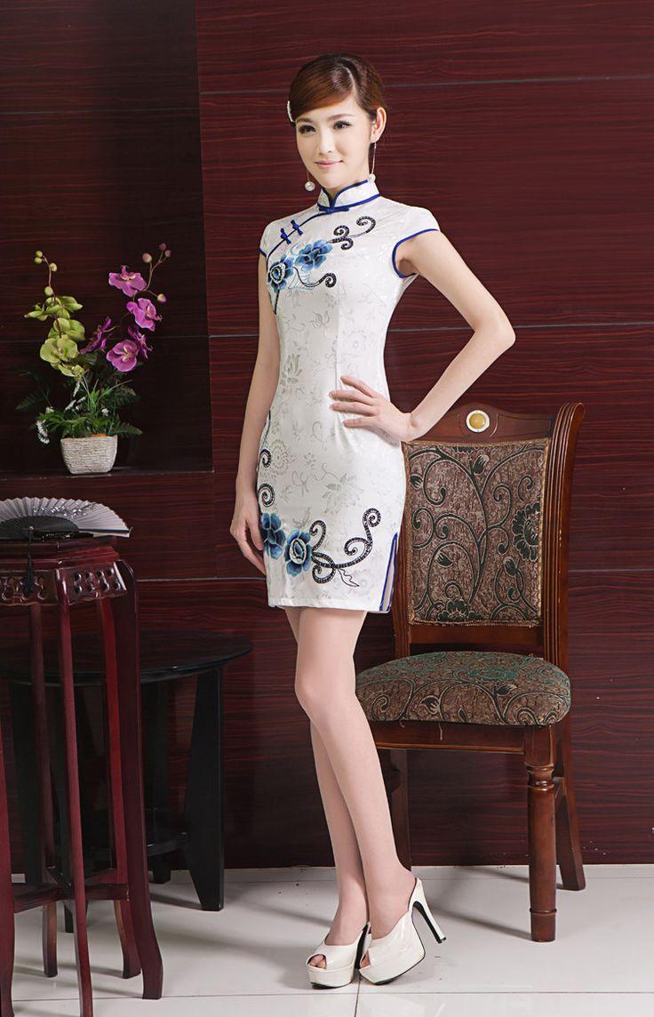 8 besten Chinese cheongsam Bilder auf Pinterest | Ethnisches kleid ...