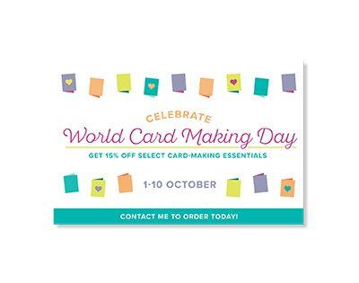 handmade by veer: World Cardmaking Day en andere mooie acties bij St...