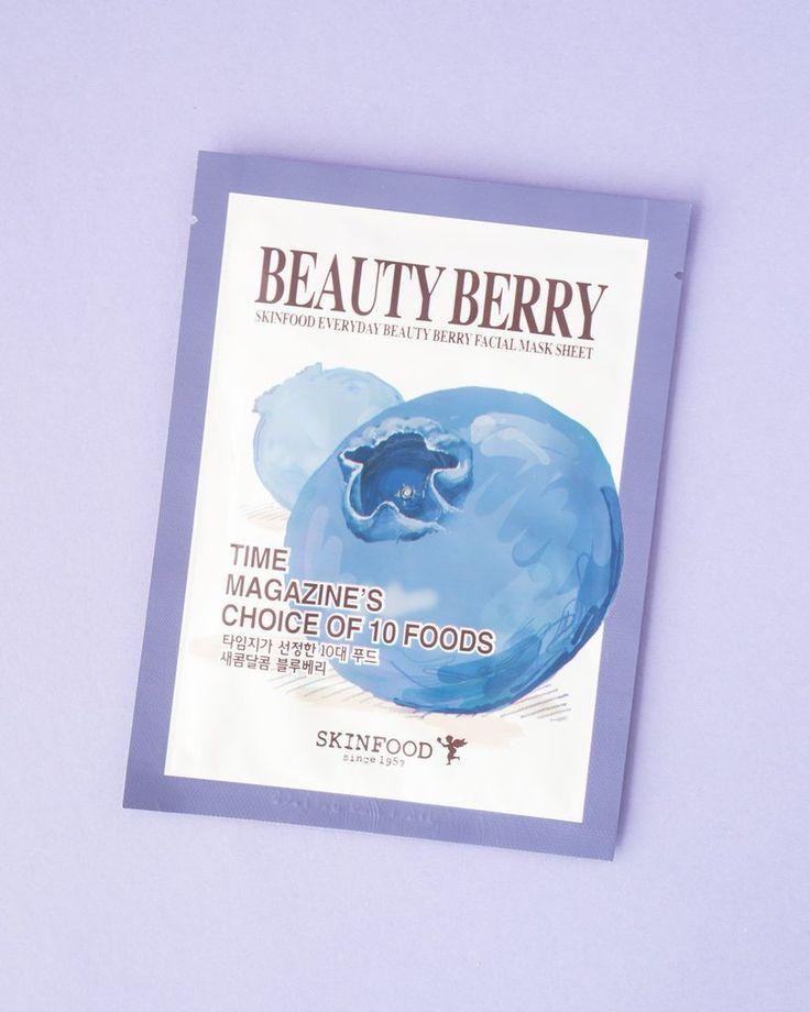 SKINFOOD Everyday Beauty Berry Facial Mask Sheet
