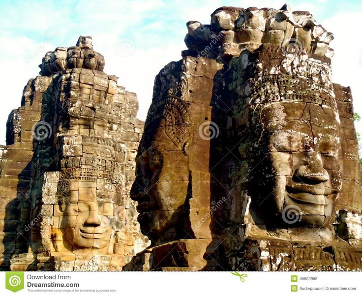 Faces Of Angkor Wat - Download From Over 27 Million High Quality Stock Photos, Images, Vectors. Sign up for FREE today. Image: 45503958