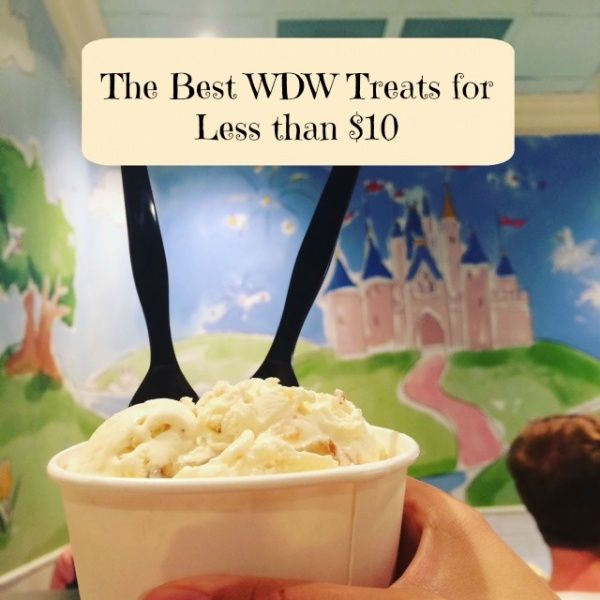 Delicious treats don't have to be expensive. Check out some of my favorite treats at Walt Disney World that don't break the bank at less than $10 each!