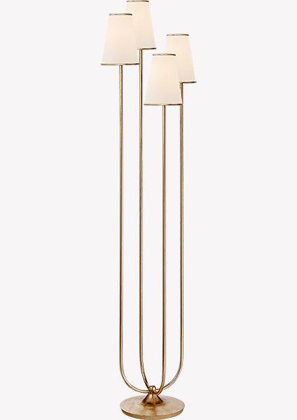 Торшер Montreuil ARN1025G-L-EU. Напольный светильник, который делает уютнее любой интерьер: от самой строгой классики до пестрого фьюжна. Элегантный источник света идеальной высоты и пропорций. Торшер дает очень теплый свет и мягко освещает выбранный уголок как ранним утром, так и темной ночью.Светильник может быть выполнен в разных отделках: полированный никель или состаренная латунь – два ярких характера на самый изысканный вкус.