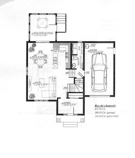Maison neuve à vendre Contemporaine, Sainte-Julienne, Lanaudière   Projet Habitation