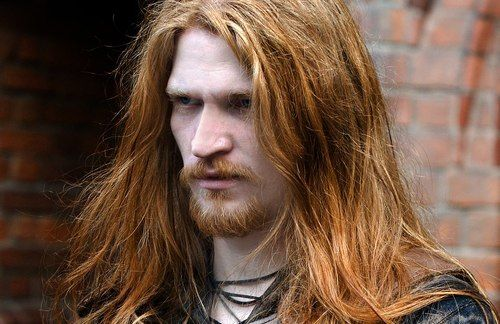 Handsome Viking Long Hair And Beard Handsome Vikings