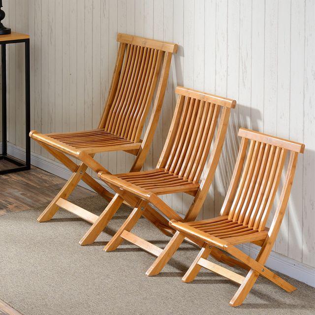 Schön Bambou Meubles Chaise De Pêche Pliante Tabouret Intérieur/Une Utilisation  En Extérieur Multifonctionnel Portable Léger